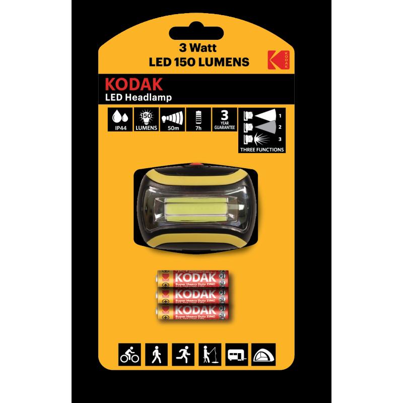 Kodak Led Headlamp Lumens 150