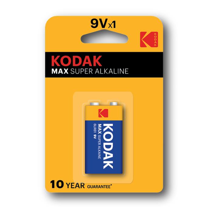 Kodak Max Super Alkaline 9V