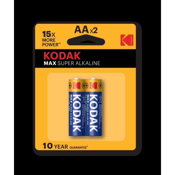 Kodak Max Super Alkaline AA (Pack of 2)