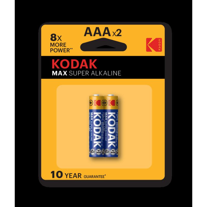 Kodak Max Super Alkaline AAA (Pack of 2)