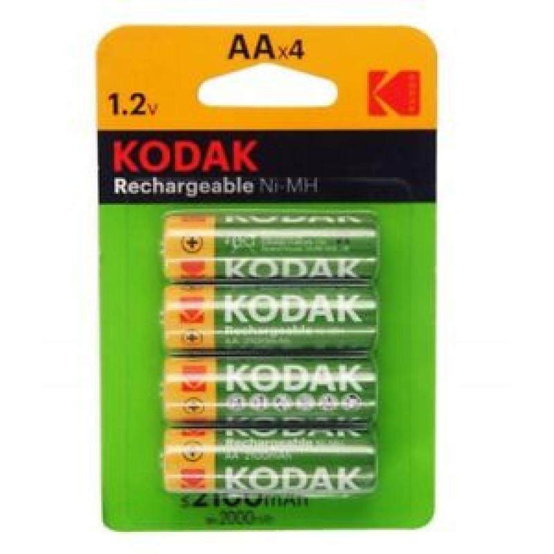 Kodak Rechargable AA Ni-MH AAx4
