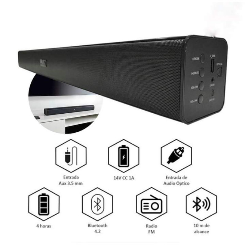 LM Rechargeable Sound Bar