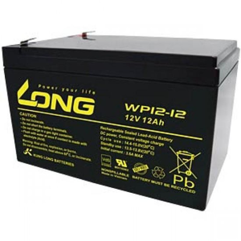 LONG 12V 12A Dry Battery