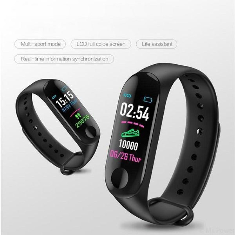 M3 Fitness Band -Black