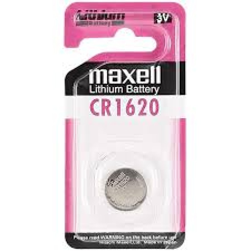 Maxell 3V Lithium Battery CR1620
