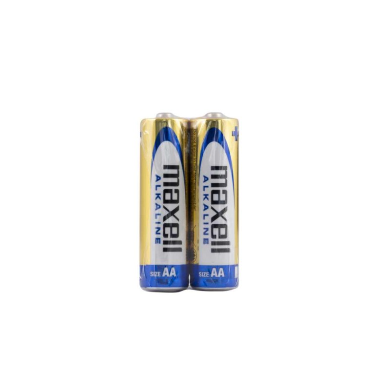 Maxell AA Alkaline Battery (Pack of 2)