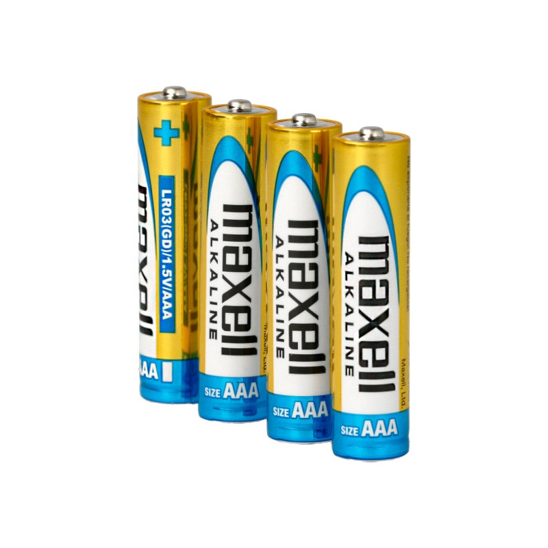 Maxell AAA Alkaline Battery (Pack of 4)