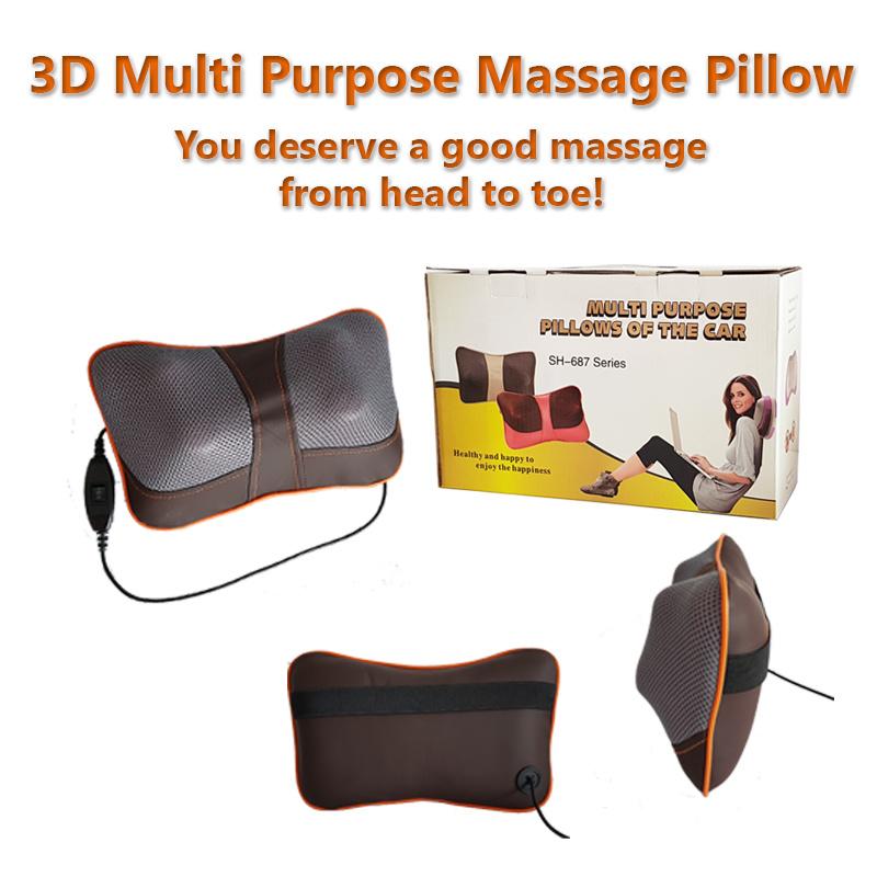 Multi Purpose Pillow For Car
