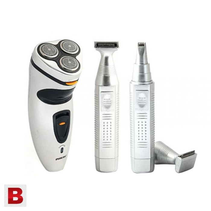 Nikai NK-5800 3 in 1 Shaver And Trimmer