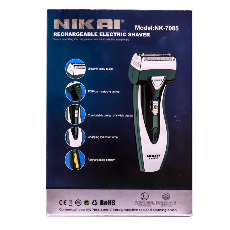 NIKAI NK-7085 Rechargeable Shaver Professional Shaving Machine