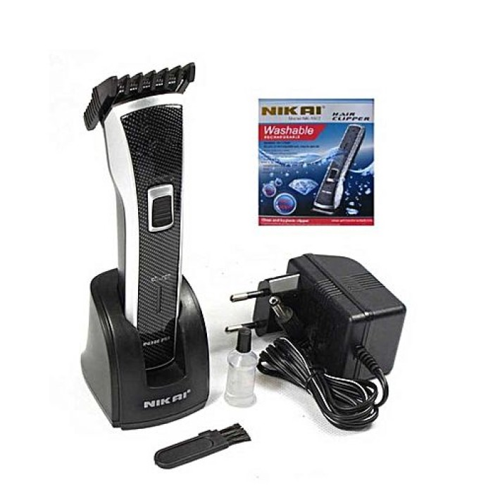 Nikai Washable Rechargeable Hair Clipper NK-1007