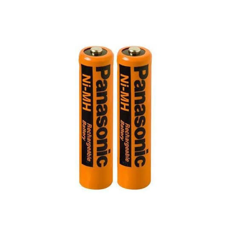 Panasonic AAA Rechargeable Batteries Ni-MH (Pack of 2)