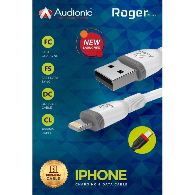 Audionic Roger Iphone Cable