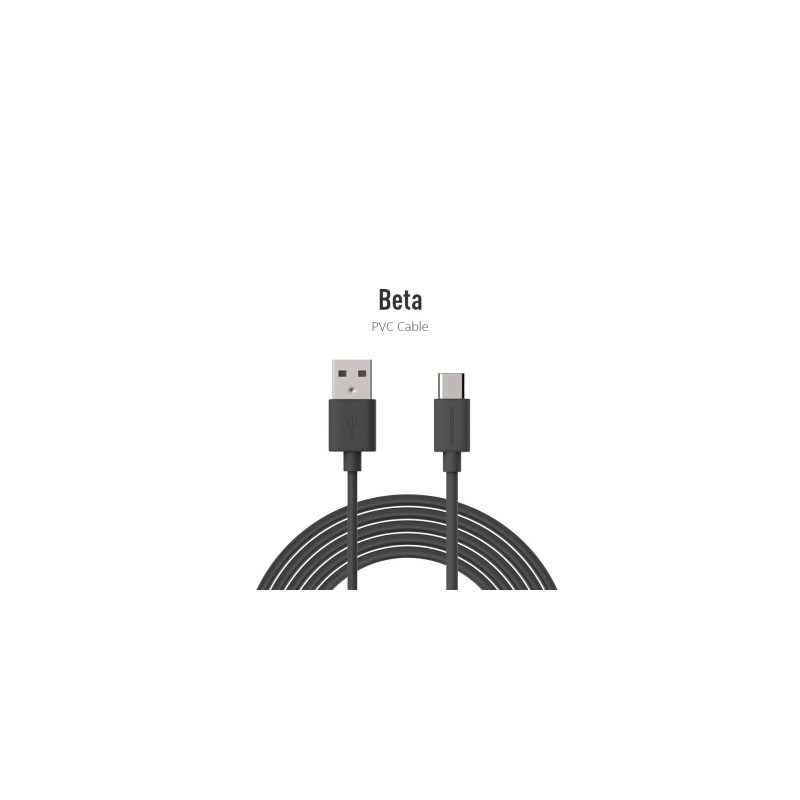 Riversong Beta TYPE-C USB 2.4A, 1 Meter Charging Cable | Black |