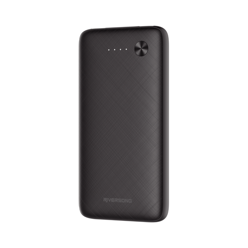 Riversong Horizon 10 Fast Charging 10000 mAh 2.4A Power Bank | Black |