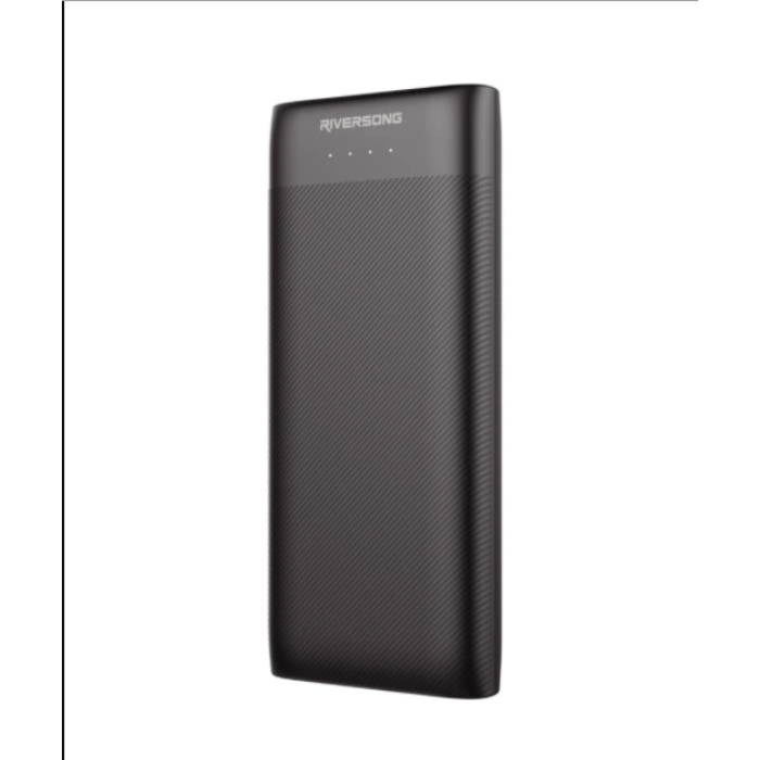 Riversong Nemo 15 PRO 15000mAh 3.0A Fast Charging Power Bank | Black |