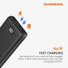 Riversong Ray 20P 20,000mAh 2.4A Fast Charging Power Bank | Black |