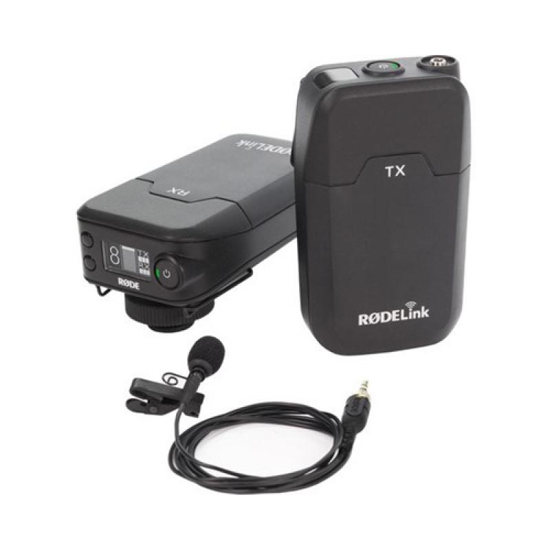 Rode RODELink Filmmaker Kit Digital Camera-Mount Omni Lavalier Microphone System
