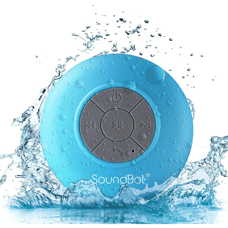 Stalion Sound Universal Wireless Portable Waterproof Bluetooth Shower Speaker