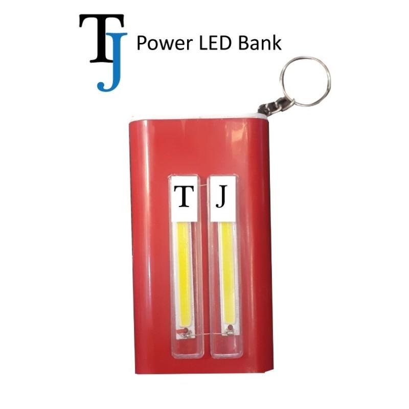 TJ Led Power Bank 8000mAh 2 in 1