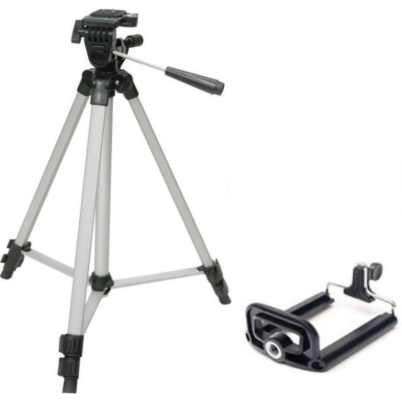 Tripod 330 Stand with Mobile Clip for Mobile and Camera