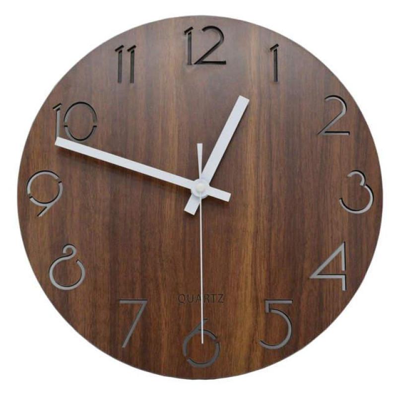 Vintage Arabic Numeral Design Wall Clock