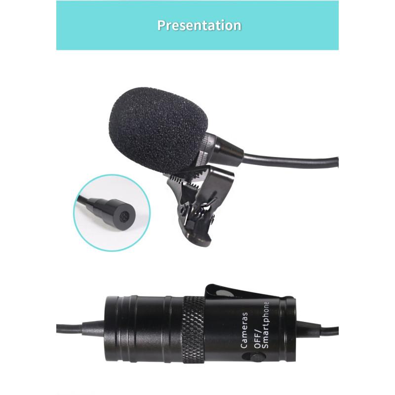 YOGA EM-M1 Omnidirectional Lavalier Microphone