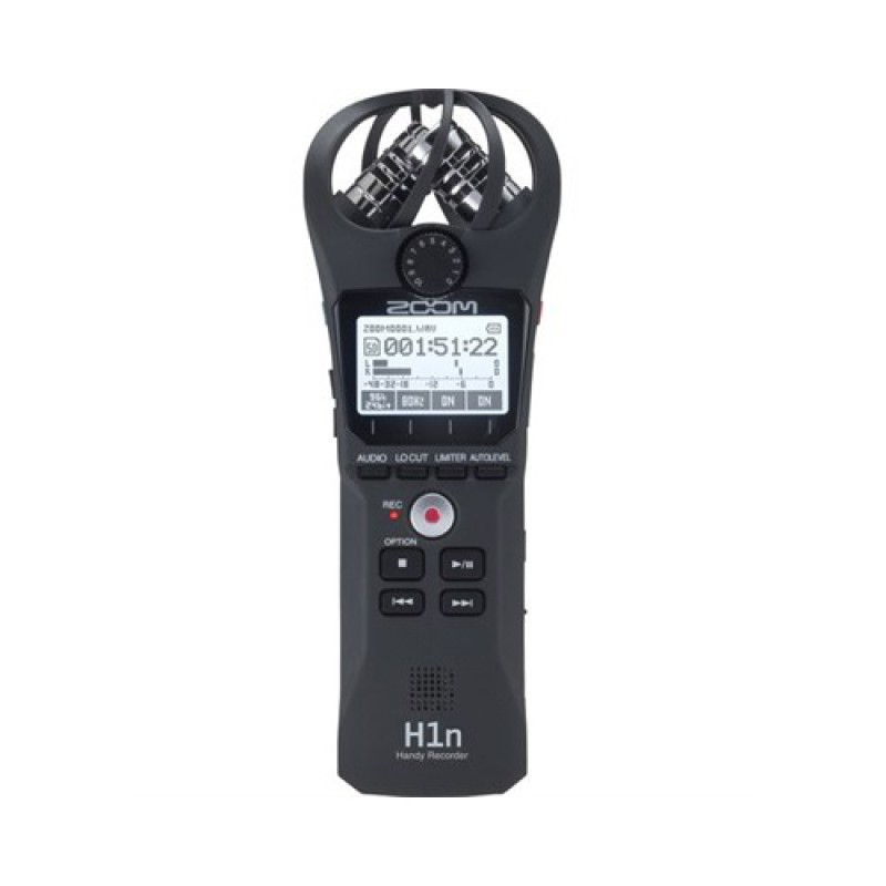 Zoom H1n 2-Input  2-Track Portable Handy Recorder with Onboard XY Microphone