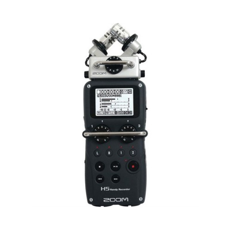 Zoom H4n Pro 4-Input  4-Track Portable Handy Recorder with Onboard XY Mic Capsule