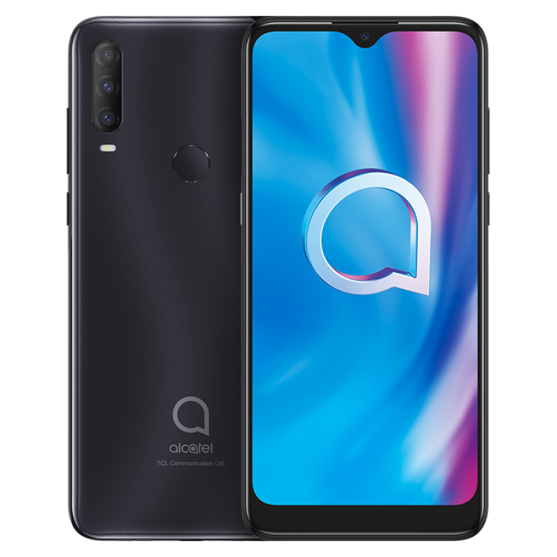 Alcatel 1S (2020) (4G 3GB 32GB Power Gray) With Official Warranty