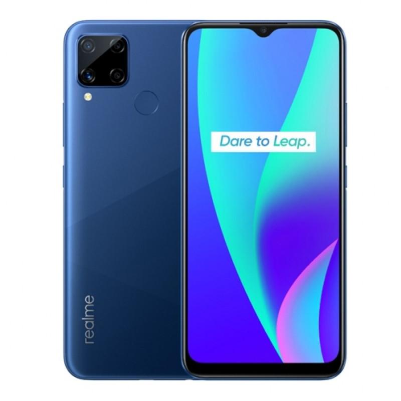 Realme C15 (4G 4GB 64GB Marine Blue) With Official Warranty