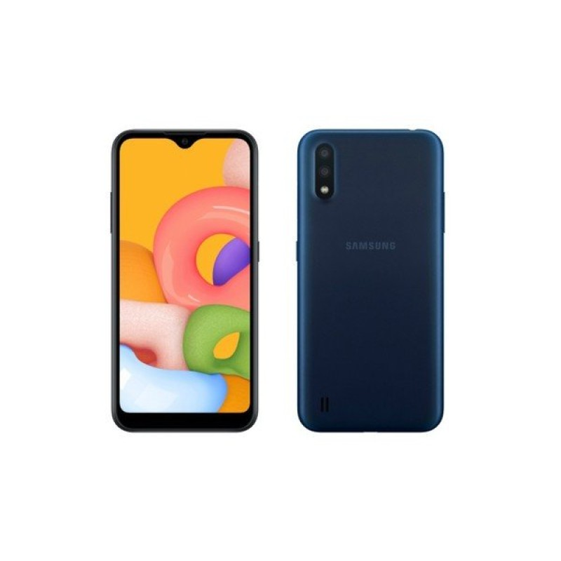Samsung Galaxy A01 (4G, 2GB, 16GB,Blue Arctic) With Official Warranty