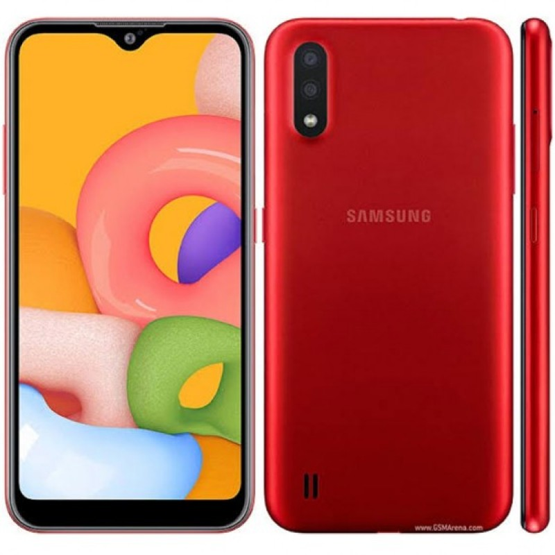 Samsung Galaxy A01 (4G, 2GB, 16GB,Red) With Official Warranty