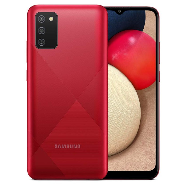 Samsung Galaxy A02s (4G 3GB 32GB Red) With Official Warranty