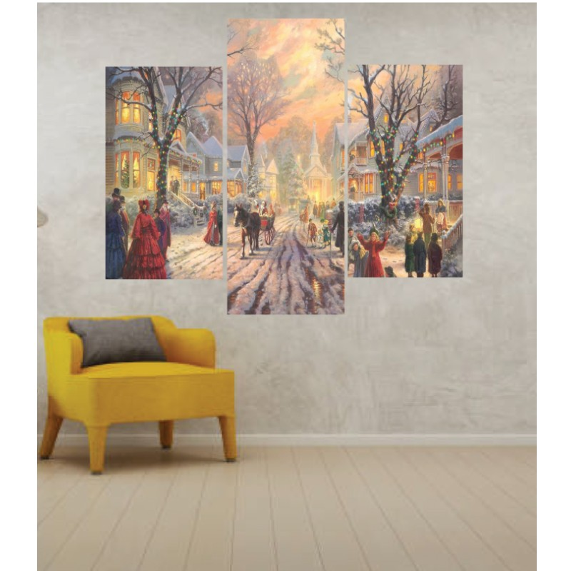 Wall Frames 3 Pieces Set Canvas – Digitally Printed Wall Canvas TJ-12