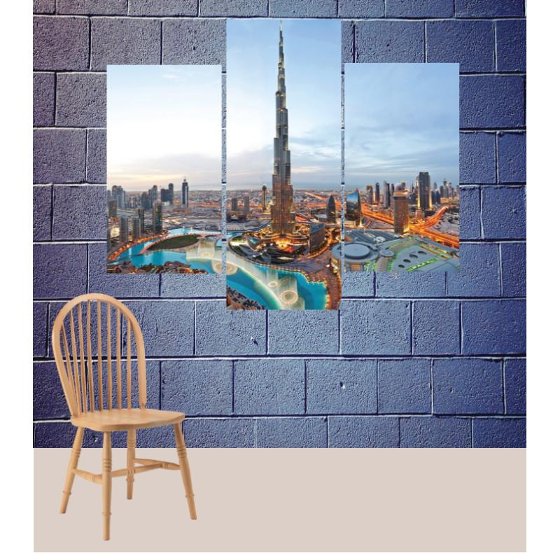 Wall Frames 3 Pieces Set Canvas – Digitally Printed Wall Canvas TJ-136