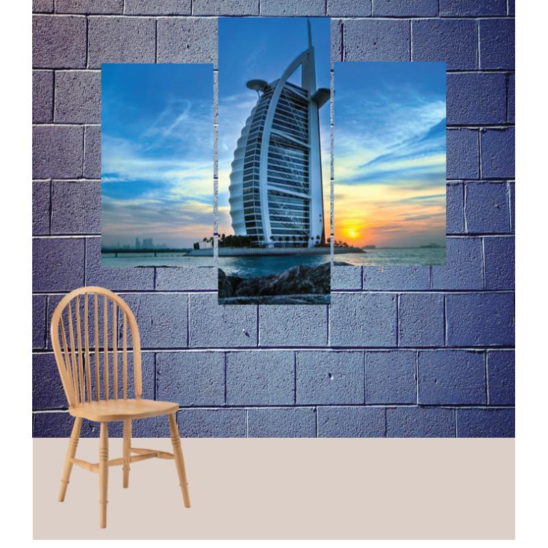 Wall Frames 3 Pieces Set Canvas – Digitally Printed Wall Canvas TJ-138