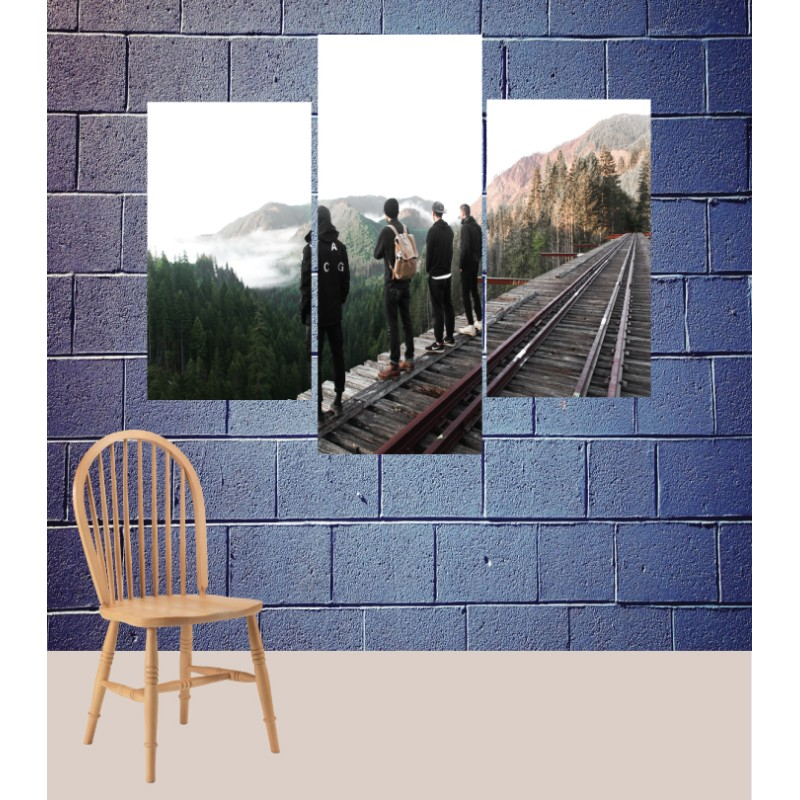 Wall Frames 3 Pieces Set Canvas – Digitally Printed Wall Canvas TJ-164