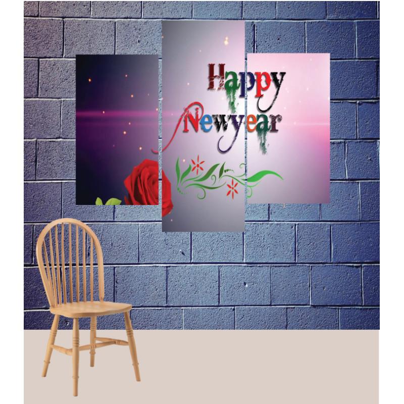 Wall Frames 3 Pieces Set Canvas – Digitally Printed Wall Canvas TJ-181