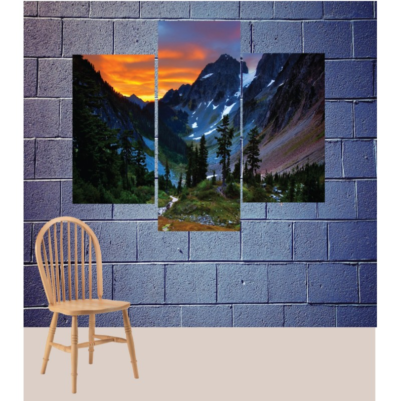 Wall Frames 3 Pieces Set Canvas – Digitally Printed Wall Canvas TJ-196