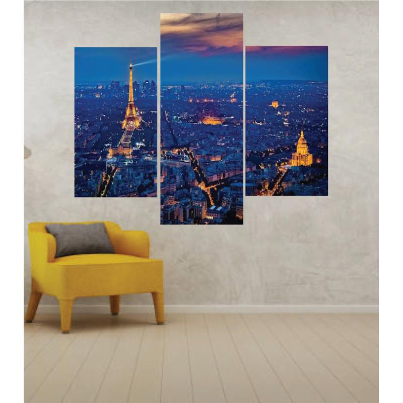 Wall Frames 3 Pieces Set Canvas – Digitally Printed Wall Canvas TJ-214