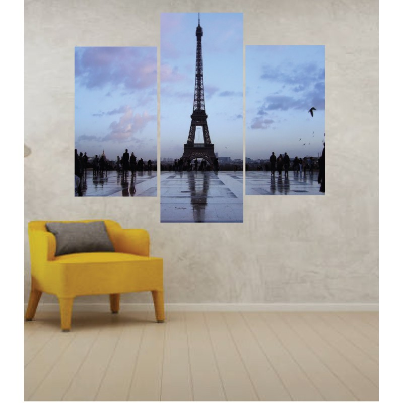 Wall Frames 3 Pieces Set Canvas – Digitally Printed Wall Canvas TJ-233