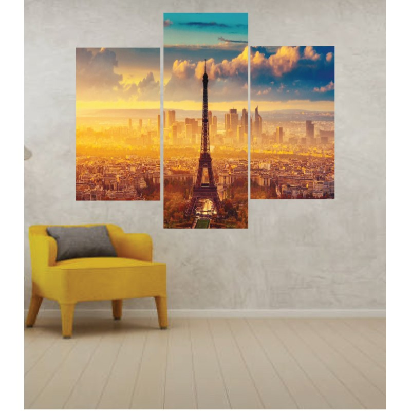 Wall Frames 3 Pieces Set Canvas – Digitally Printed Wall Canvas TJ-237