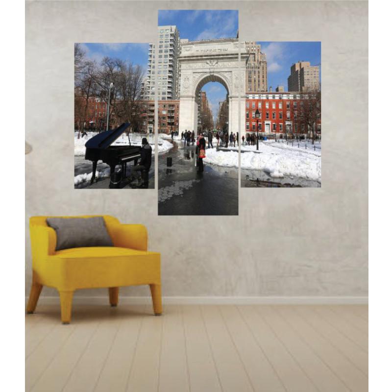 Wall Frames 3 Pieces Set Canvas – Digitally Printed Wall Canvas TJ-24