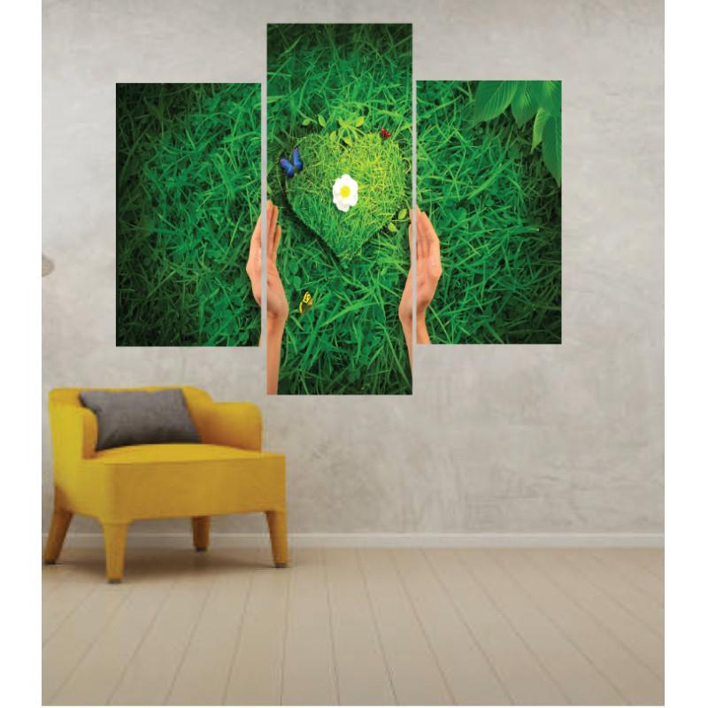 Wall Frames 3 Pieces Set Canvas – Digitally Printed Wall Canvas TJ-243