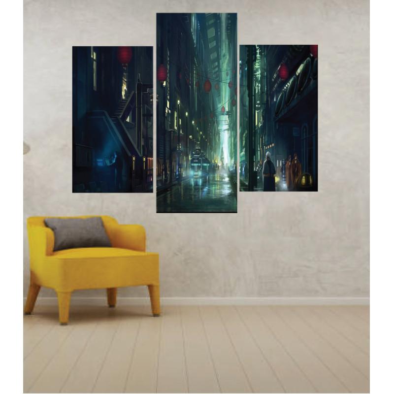 Wall Frames 3 Pieces Set Canvas – Digitally Printed Wall Canvas TJ-244