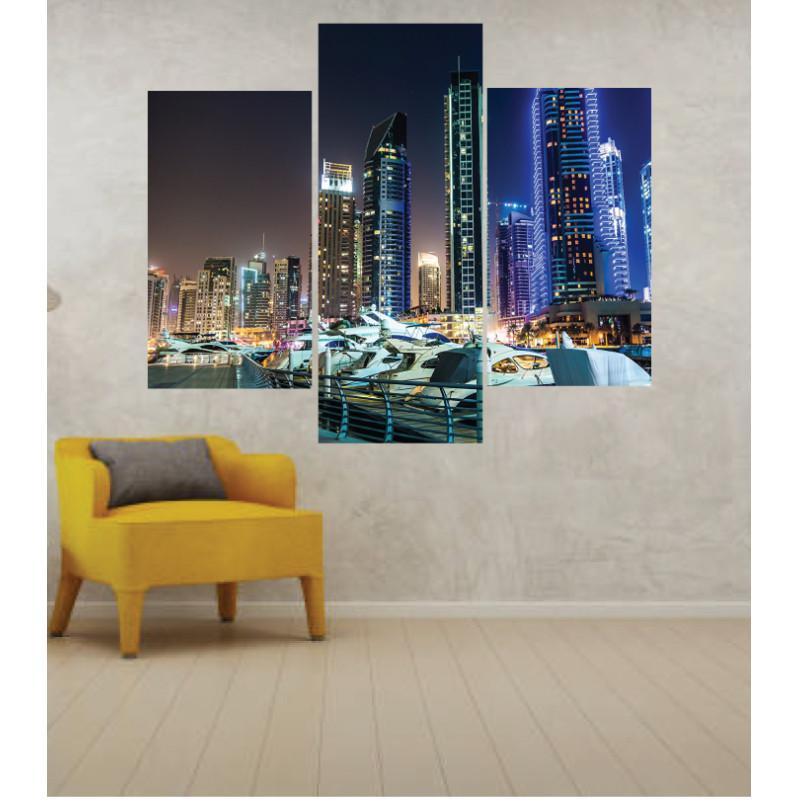 Wall Frames 3 Pieces Set Canvas – Digitally Printed Wall Canvas TJ-249