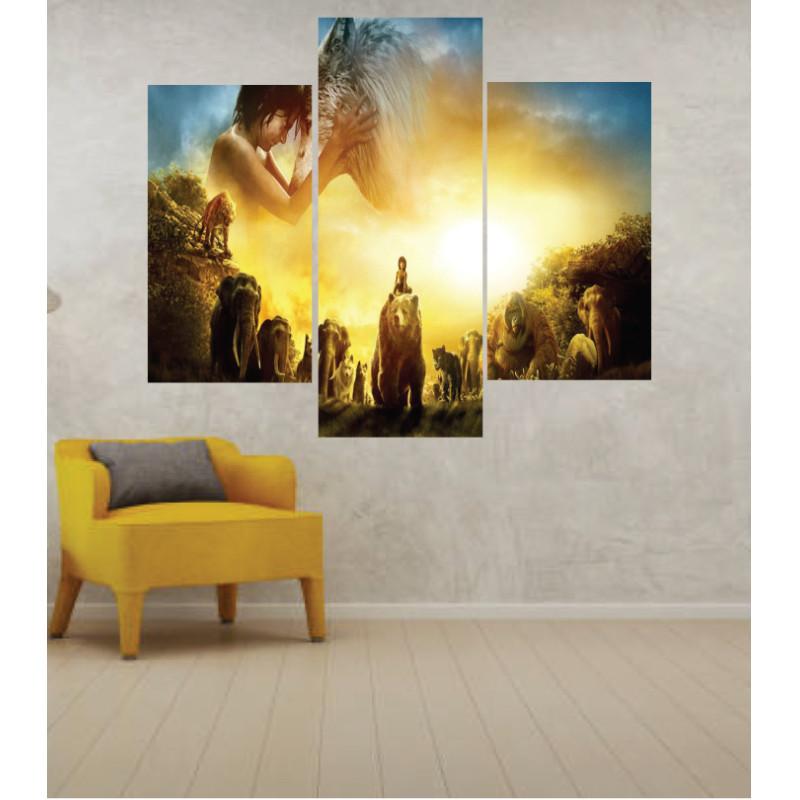 Wall Frames 3 Pieces Set Canvas – Digitally Printed Wall Canvas TJ-259