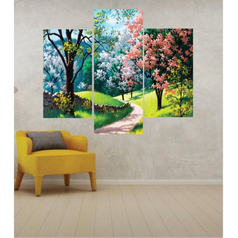 Wall Frames 3 Pieces Set Canvas – Digitally Printed Wall Canvas TJ-265