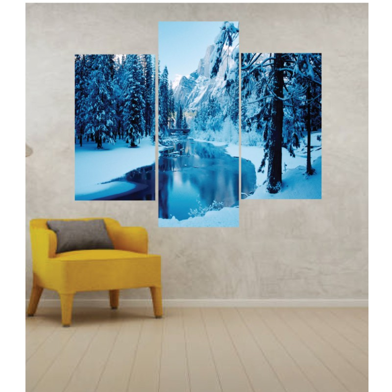Wall Frames 3 Pieces Set Canvas – Digitally Printed Wall Canvas TJ-01